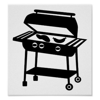 BBQ - Barbecue Print