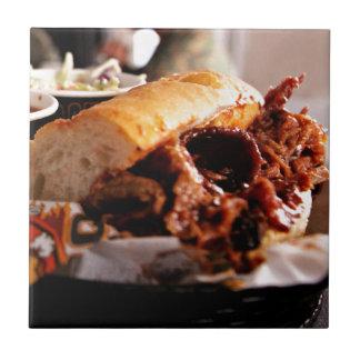 BBQ Beef Brisket Sandwich Tile
