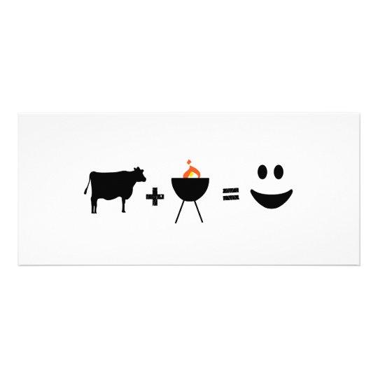 BBQ Beef Happy Rack Card