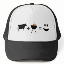 BBQ Beef Happy Trucker Hat