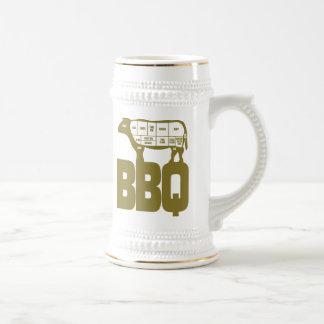 BBQ BEER STEIN