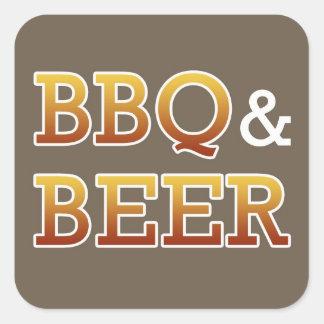 BBQ & Beer Sticker