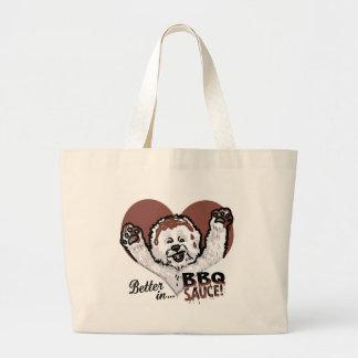 BBQ Bichon Frise Bags