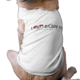 Bbq Bichon Frise Camisa De Perrito