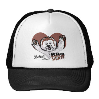 BBQ Bichon Frise Trucker Hat
