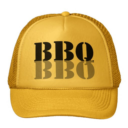 BBQ Black & Silver Hat