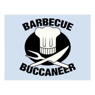 BBQ Buccaneer Postcard