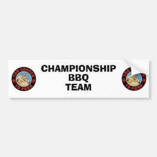 BBQ Bumper Sticker