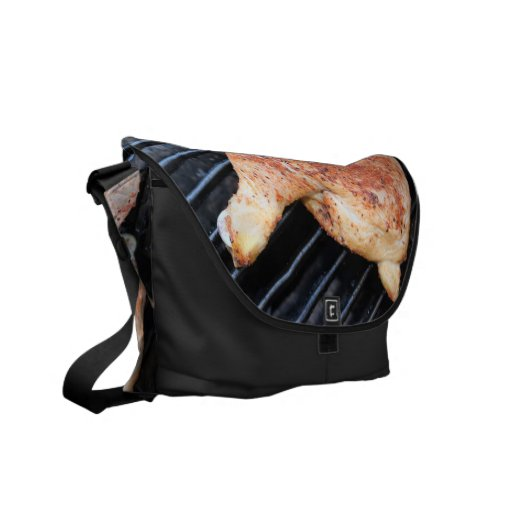 BBQ Chicken Messenger Bags