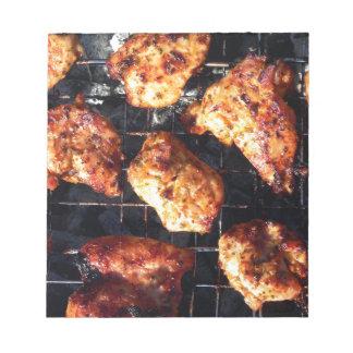 BBQ Chicken Note Pad