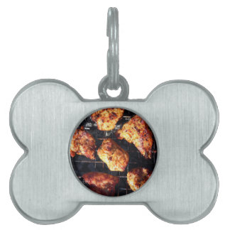 BBQ Chicken Pet Name Tag