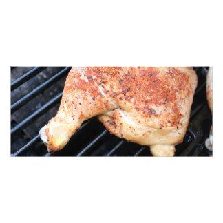 BBQ Chicken Rack Card Design