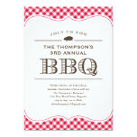 BBQ Cookout Invitations