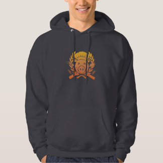 BBQ Crest - sunset fade Sweatshirt