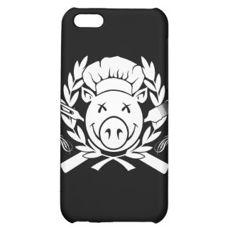 BBQ Crest White Case For iPhone 5C