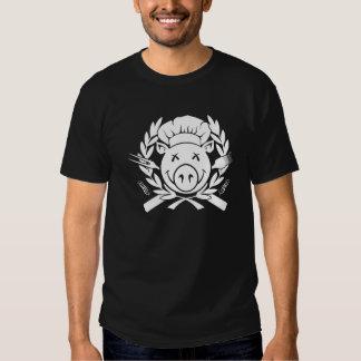 BBQ Crest - white print T-Shirt