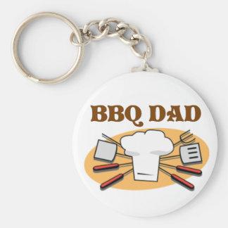 BBQ Dad Keychain
