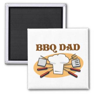 BBQ Dad Magnet
