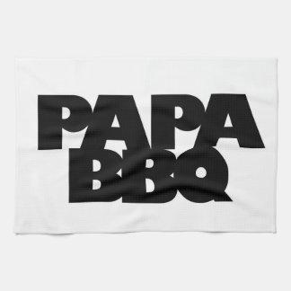 Bbq de la papá toallas de cocina