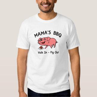 BBQ de mamá Remera