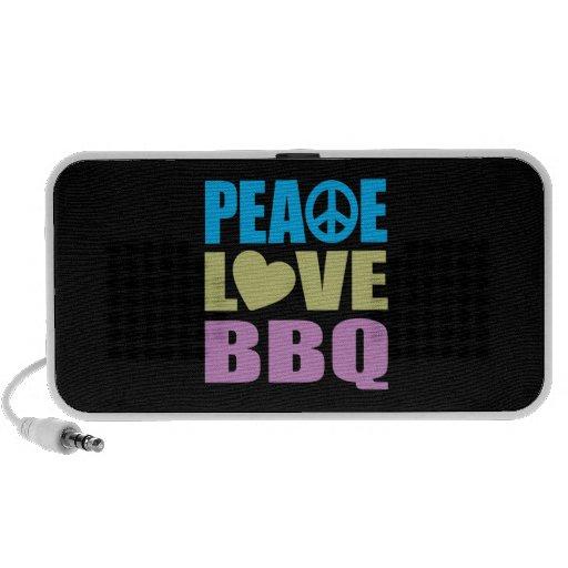 Bbq del amor de la paz mp3 altavoz