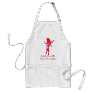 BBQ Fairy Cooking with Awesomesauce! Adult Apron