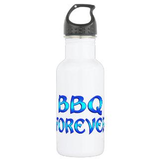 BBQ Forever Stainless Steel Water Bottle