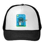 bbq gas grill mesh hats