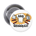 BBQ Goddess Pin