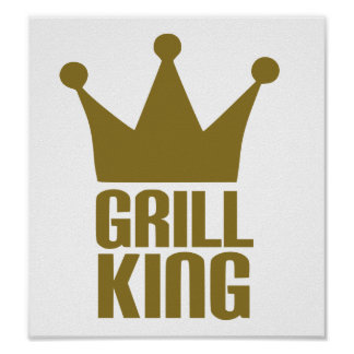 BBQ - Grill king Poster