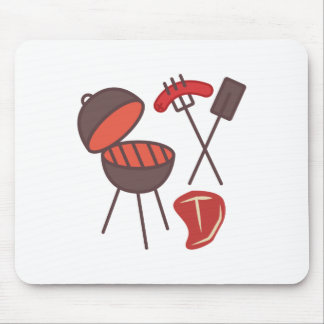 BBQ Grill Mouse Pad
