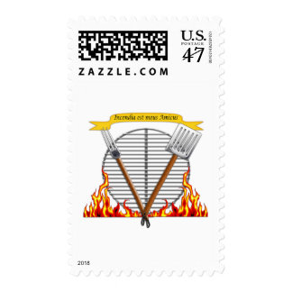 BBQ Grill Royal Crest Postage