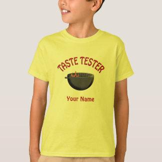 BBQ Grill Taste Tester Kids T-shirt