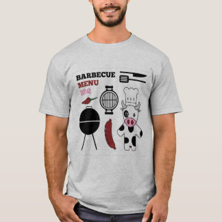 BBQ, Grilling Out, Meat Eater Cooking T-shirt