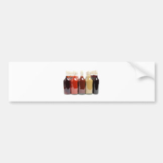 BBQ hot sauces Bumper Sticker