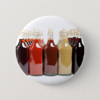 BBQ hot sauces Pinback Button