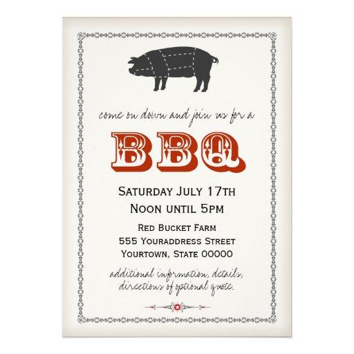BBQ Invitation