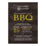 """BBQ! Invitation 5"""" X 7"""" Invitation Card"""