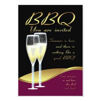 BBQ Invitation Card - Stylish BBQ Invite