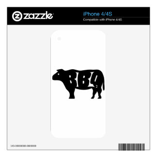 BBQ iPhone 4S DECAL