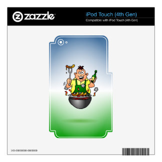 BBQ iPod TOUCH 4G SKINS