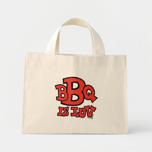 BBQ is Luv bag (light)