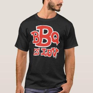 BBQ is Luv dark t-shirt