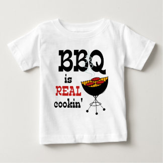 BBQ Is Real Cookin' Baby T-Shirt