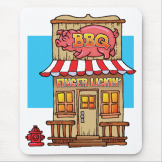 BBQ Joint Mouse Pad