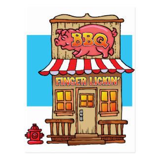 BBQ Joint Postcard