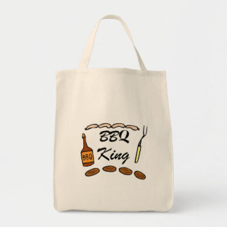 BBQ King Tote Bags