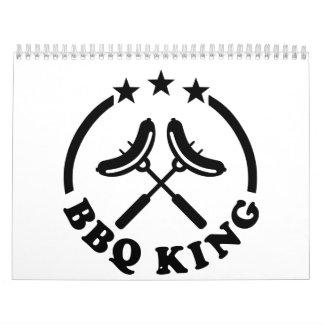 BBQ King barbecue Calendar