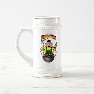 BBQ King Beer Stein
