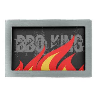 BBQ King Belt Buckle for men